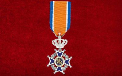 De heer A.J. Bremer is benoemd tot Lid in de Orde van Oranje Nassau
